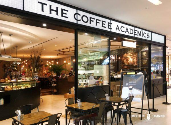 The Coffee Academicsの外観入口