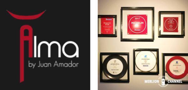 ミシュラン1つ星Alma by Juan Amador
