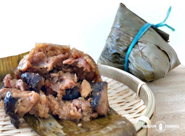 「アモイストリート・フードセンター」和記Hoo Kee Rice Dumpling(#01-18)の中華ちまき