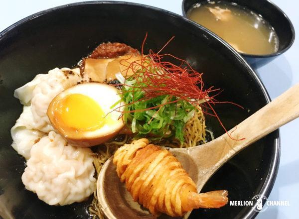 「アモイストリート・フードセンター」A Noodle Story(#01-39)のラーメン