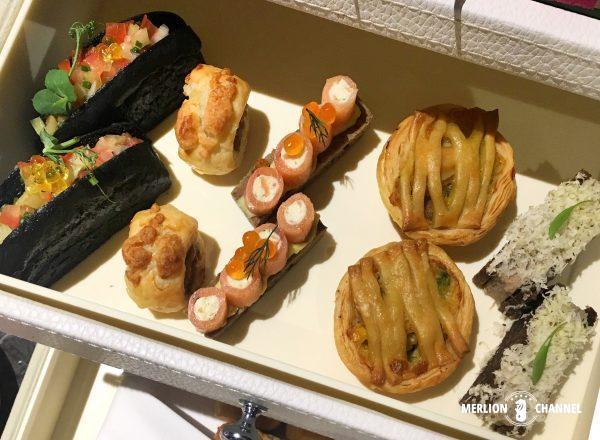 アンティドート(Anti:dote)のアフタヌーンティー2段目スナック軽食