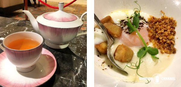 アンティドート(Anti:dote)の紅茶と前菜