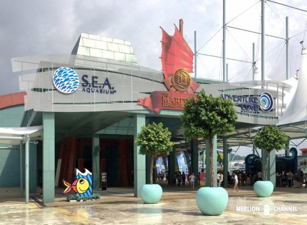 S.E.A Aquarium(シー・アクアリウム)の建物