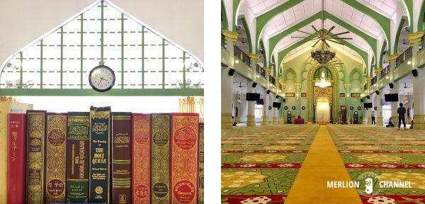 サルタンモスク内部