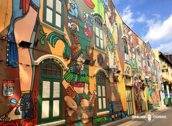 ハジレーンの壁画はインスタ映えで大人気