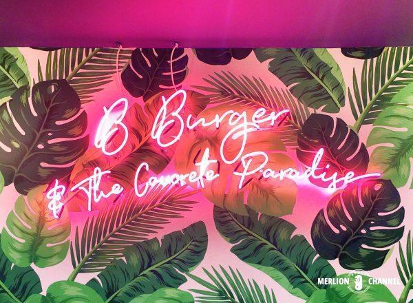 B Burgerネオン