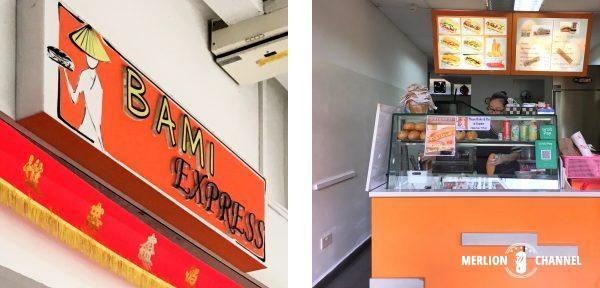 Bami Expressのカウンター