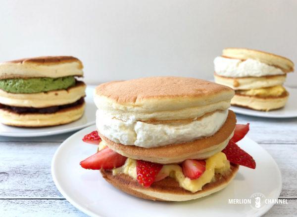 ベル・ヴィルのパンドラボックス3種類のパンケーキ