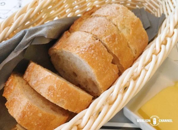 ビストロ・デュ・ヴァンのパン