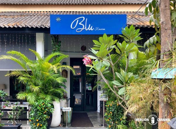 「Blu Kouzina(ブルー・クッジーナ)」の入口