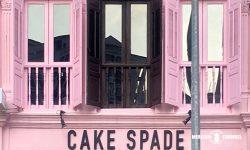 Cake Spadeのピンクの外観