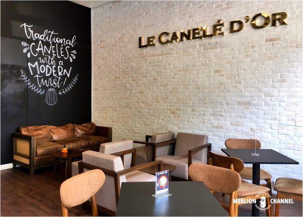 Le Canele d'Orの店内