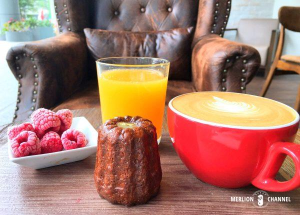 Le Canele d'Orのモーニングセット