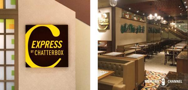 ダウンタウンギャラリーの「チャターボックス・エクスプレス(Chatterbox by Express)」