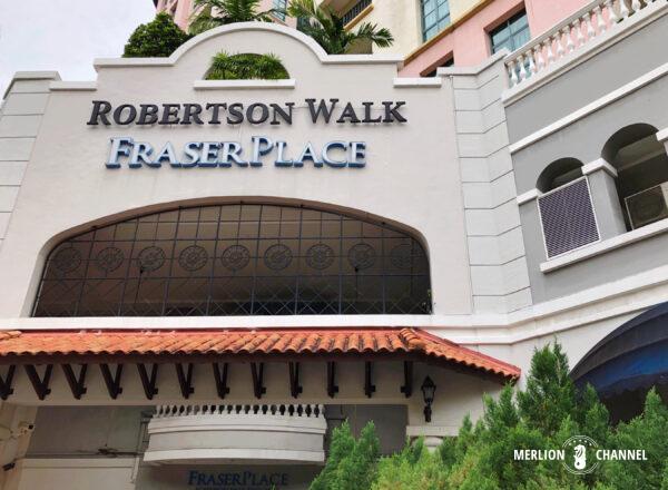 人気の複合ダイニング施設「ロバートソン・ウォーク」