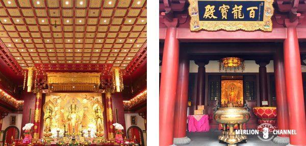 佛牙寺の内部