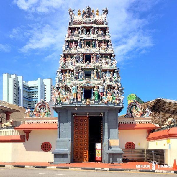 シンガポール最古のヒンドゥー寺院「スリ・マリアマン寺院」