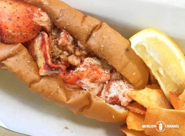 Chunky Lobsterのロブスターロール