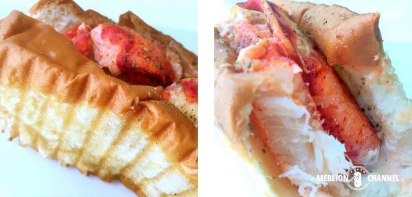 Chunky Lobsterのパンと断面