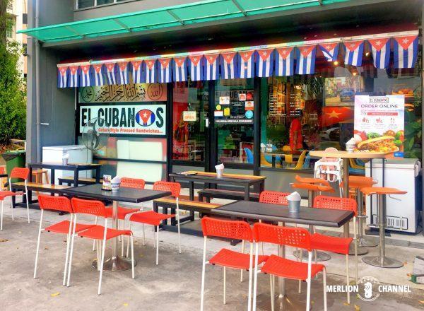 El Cubanos外観