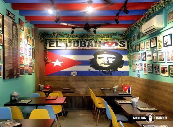 El Cubanosインテリア