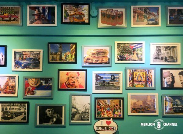 El Cubanos壁の写真