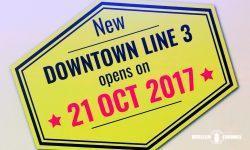 ダウンタウン線の第3区間オープン