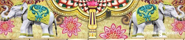 Deepavaliの装飾