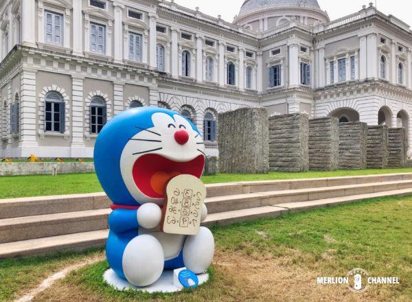 シンガポール国立博物館で開催中の「ドラえもん展」アンキパン