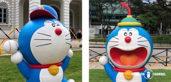 シンガポール国立博物館「ドラえもん展」エースキャップ&いいなりキャップ