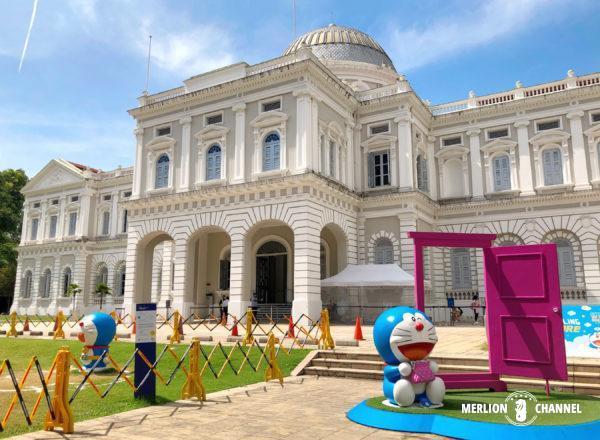 シンガポール国立博物館で開催されている「ドラえもん展」