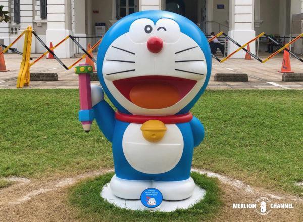 シンガポール国立博物館「ドラえもん展」コンピューターペンシル
