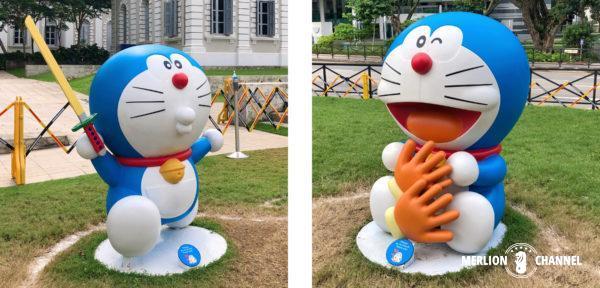 シンガポール国立博物館「ドラえもん展」名刀電光丸&スーパー手袋