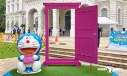シンガポール国立博物館「ドラえもん展」どこでもドア&とりよせバッグ
