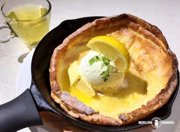 ダッチベイビー・パンケーキのレモンバターパンケーキ