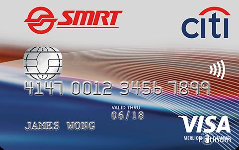 CitibankのSMRTカード