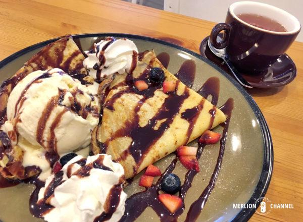 「Fika Cafe」のスウェーデン・パンケーキ