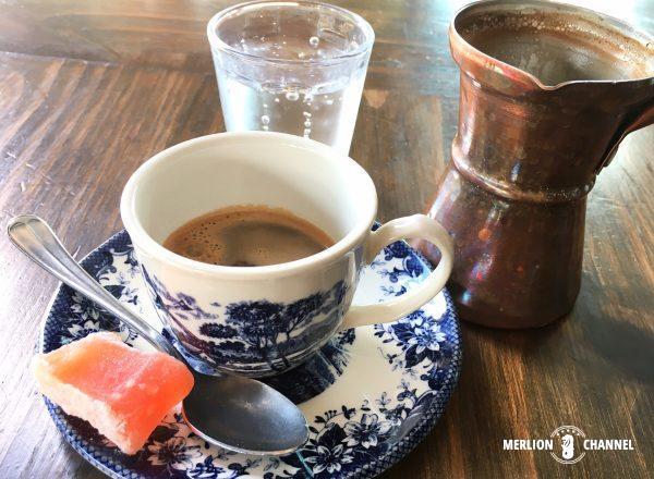 ファイヤーベイクのギリシャ式コーヒー