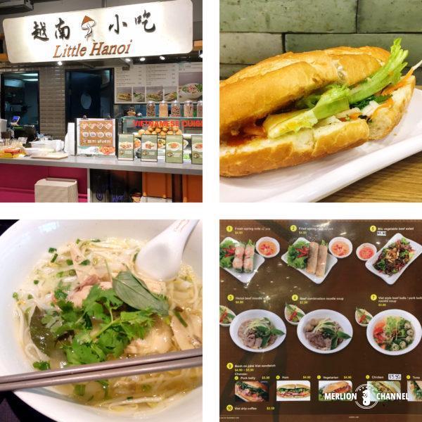 フードリパブリックに出店しているベトナム料理屋台「リトル・ハノイ」