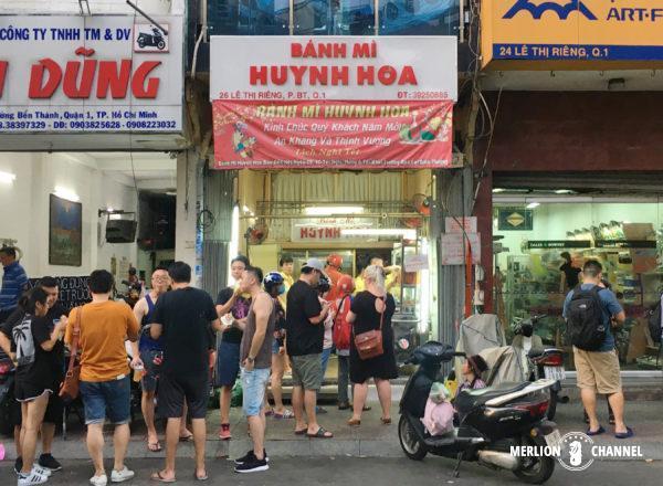 ホーチミンのバインミー店「Huynh Hoa」