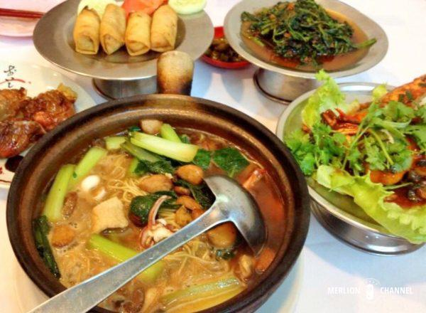 ヒルマンシンガポール本店でのディナー