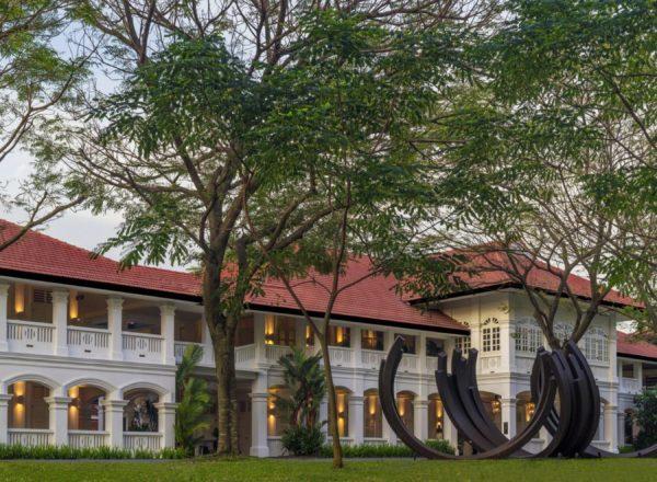 カペラ・シンガポールの外観