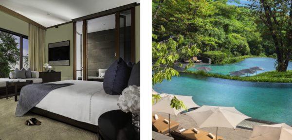 カペラ・シンガポールの部屋&プール