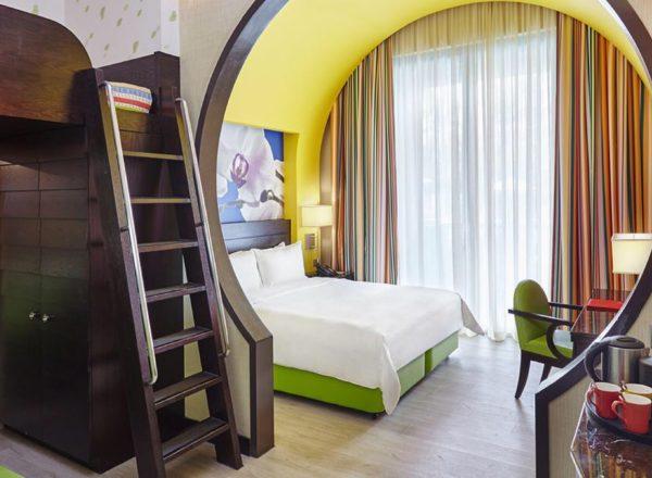 フェスティブホテルの部屋(デラックスファミリールーム)