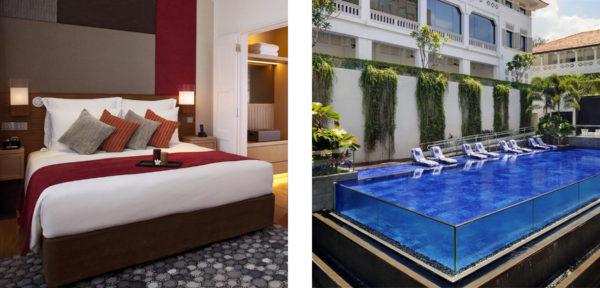 ル・メリディアン・シンガポール・セントーサの部屋&プール