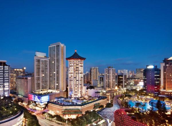 シンガポール・マリオット・タン・プラザホテルの周辺と外観