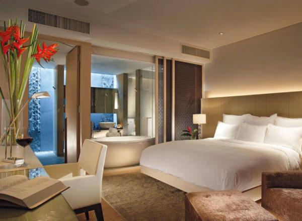 シンガポール・マリオット・タン・プラザホテルの部屋