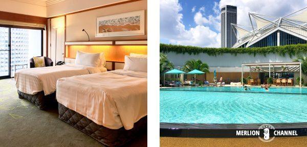 パンパシフィック(Pan Pacific)ホテルの部屋