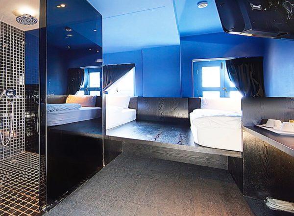 ポルセインホテルの部屋(スーペリアツイン)
