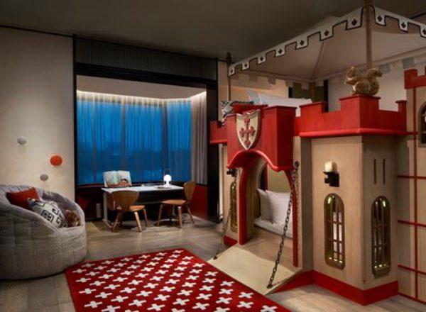 シャングリラのファミリースイートの部屋